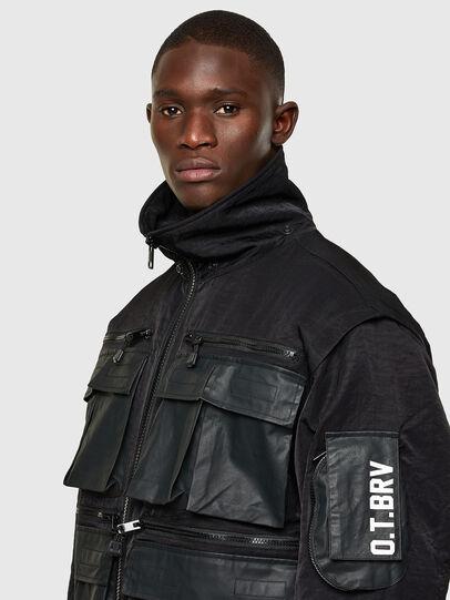 Diesel - J-AKKAD, Black - Jackets - Image 3