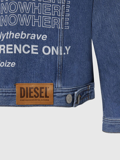 Diesel - NHILL-SP2, Light Blue - Denim Jackets - Image 6