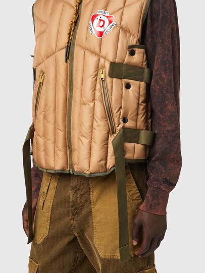 Diesel - J-HAWLEY, Light Brown - Jackets - Image 4