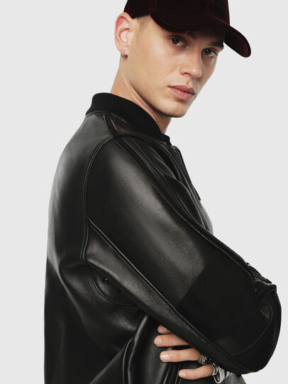 Diesel - L-YUTAKIS,  - Leather jackets - Image 3