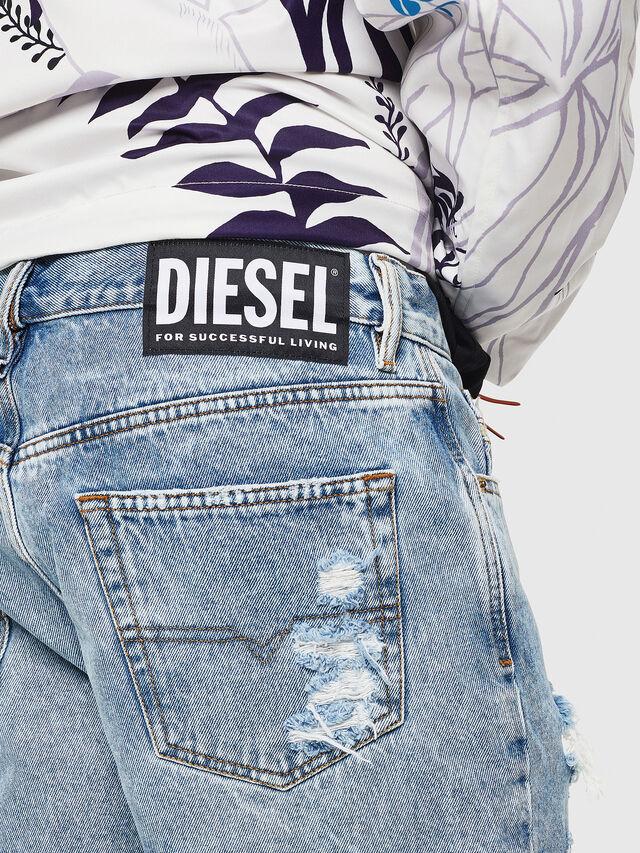 Diesel - D-KIRM, Blue Jeans - Shorts - Image 4