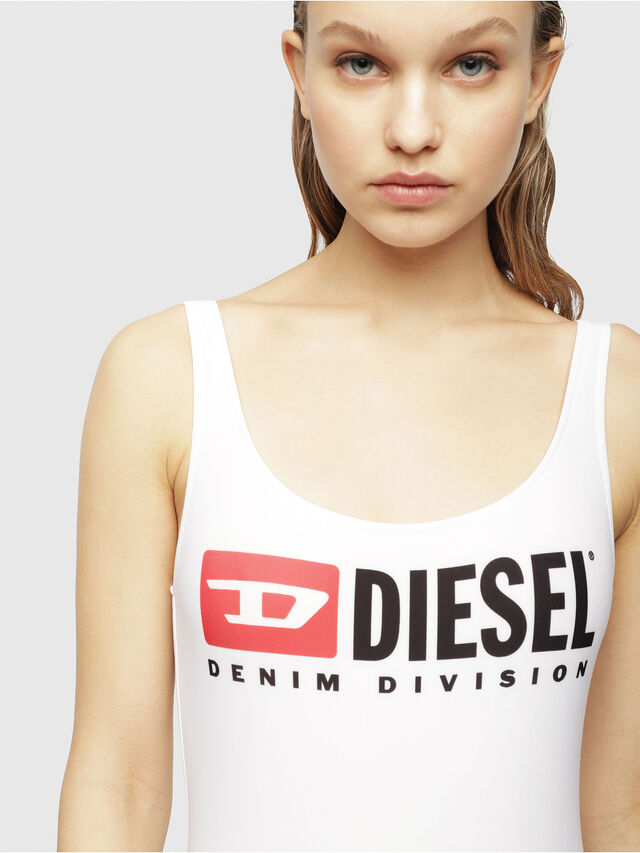 Diesel - BFSW-FLAMNEW, Bright White - Swimsuits - Image 3