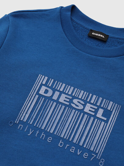 Diesel - SCOLIGCODE OVER, Blue - Sweaters - Image 3