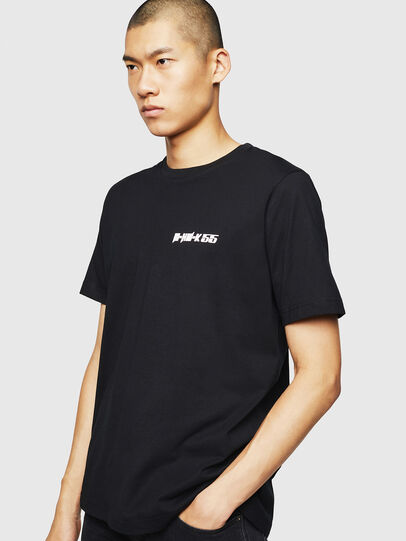Diesel - T-JUST-B31, Black - T-Shirts - Image 1