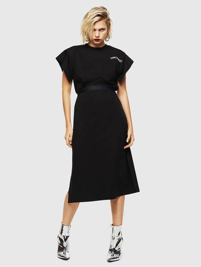 Diesel - D-FLIX-B, Black - Dresses - Image 1