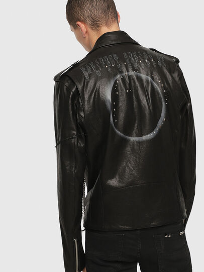 Diesel - SE-LEANDRO,  - Leather jackets - Image 2
