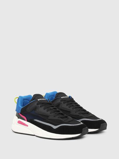 Diesel - S-SERENDIPITY SM, Black/Blue - Sneakers - Image 2