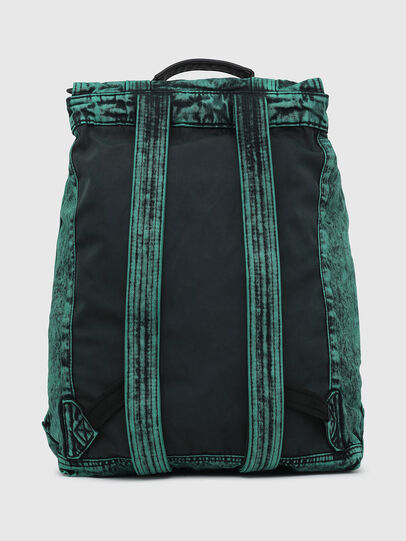 Diesel - GRAFYTI BACK, Green - Backpacks - Image 2