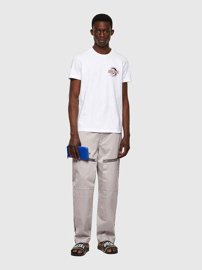 Diesel - T-DIEGOS-K23, White - T-Shirts - Image 4