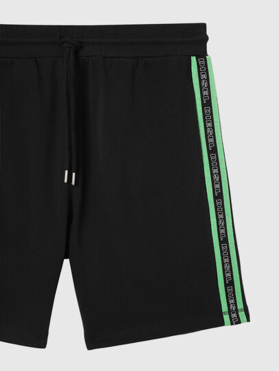Diesel - UMLB-EDDY, Black/Green - Pants - Image 3