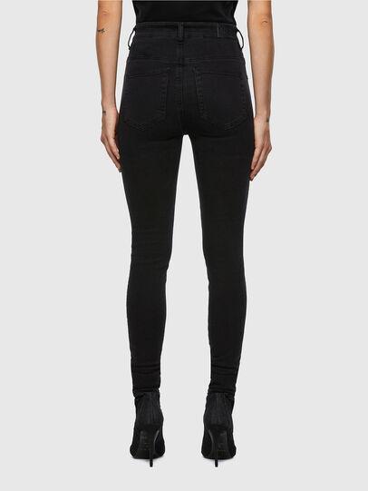 Diesel - Slandy High 069VW, Black/Dark grey - Jeans - Image 2