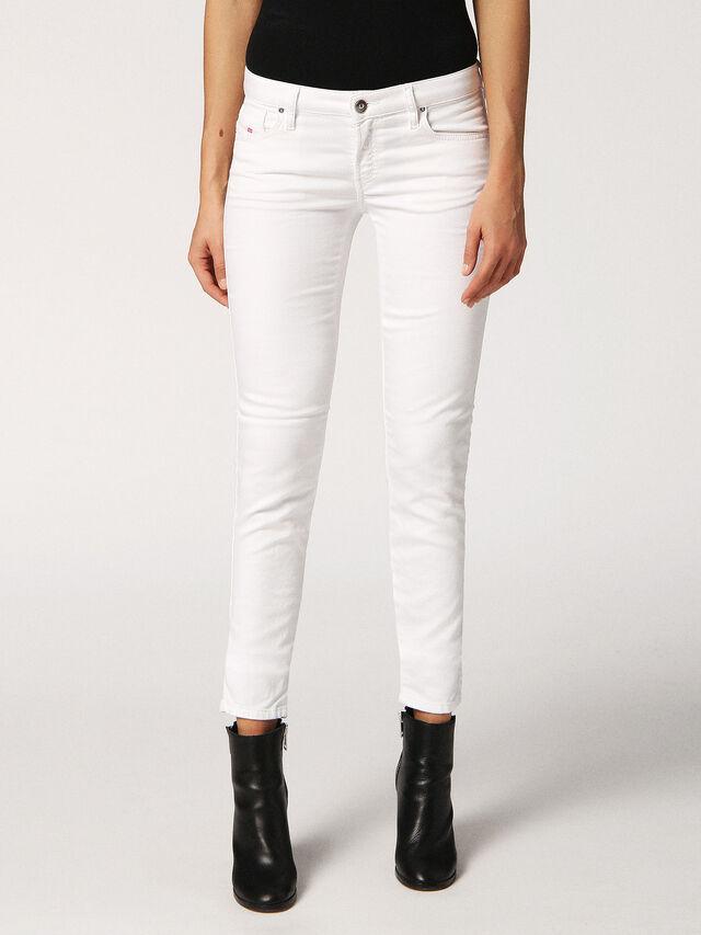 GRACEY JOGGJEANS 0684U, White Jeans