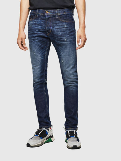 Diesel - Tepphar 087AT, Dark Blue - Jeans - Image 1
