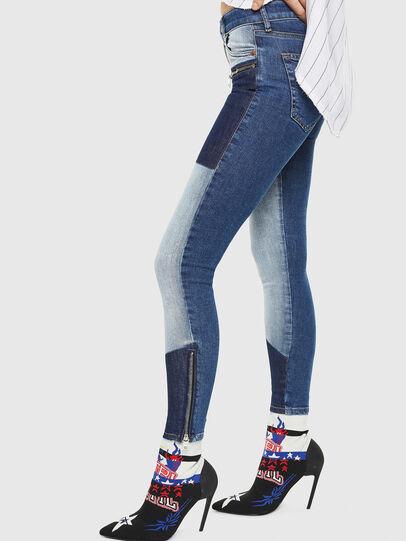 Diesel - Slandy Zip 0890L,  - Jeans - Image 6