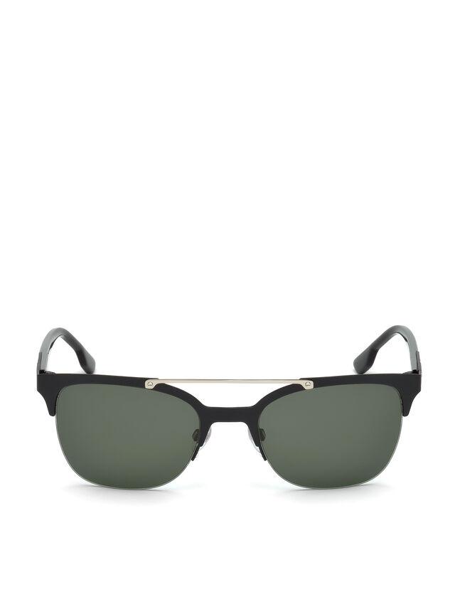 Diesel - DL0215, Black - Eyewear - Image 1