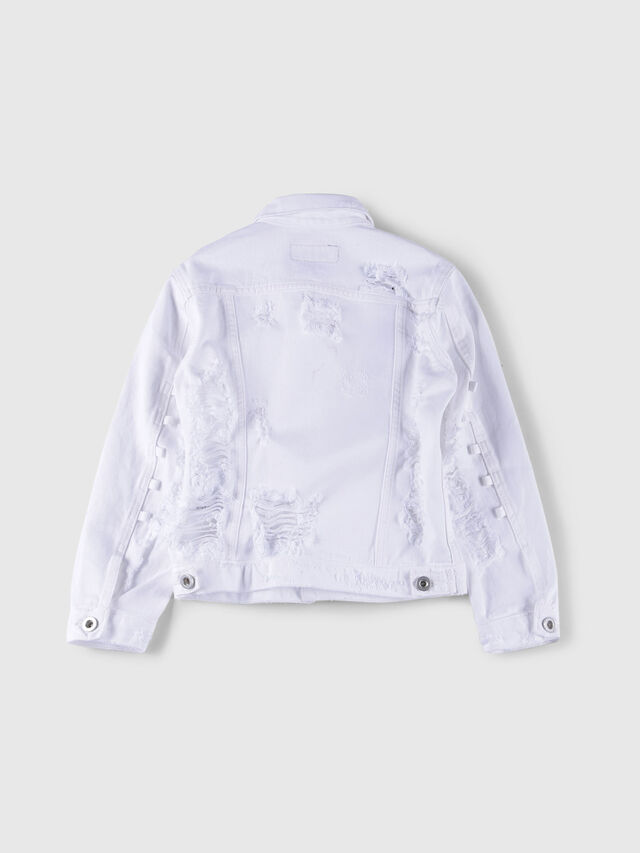 Diesel - JEOCYD, White Jeans - Jackets - Image 2