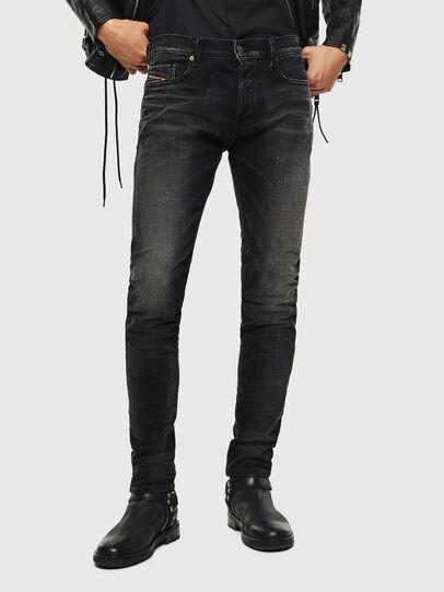 Diesel - Tepphar 0098B, Black/Dark grey - Jeans - Image 1