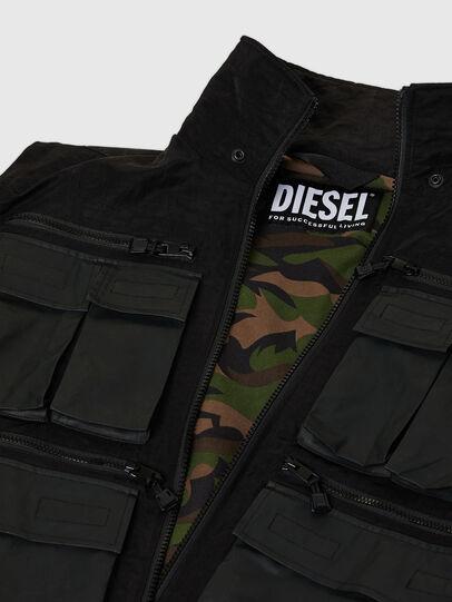 Diesel - J-AKKAD, Black - Jackets - Image 7