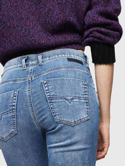 Diesel - Krailey JoggJeans 069IH, Light Blue - Jeans - Image 5