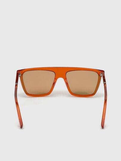 Diesel - DL0323, Orange - Sunglasses - Image 4