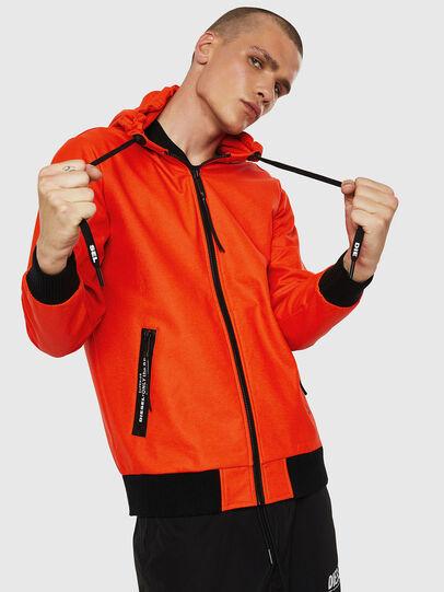 Diesel - S-FILM, Orange - Sweaters - Image 1