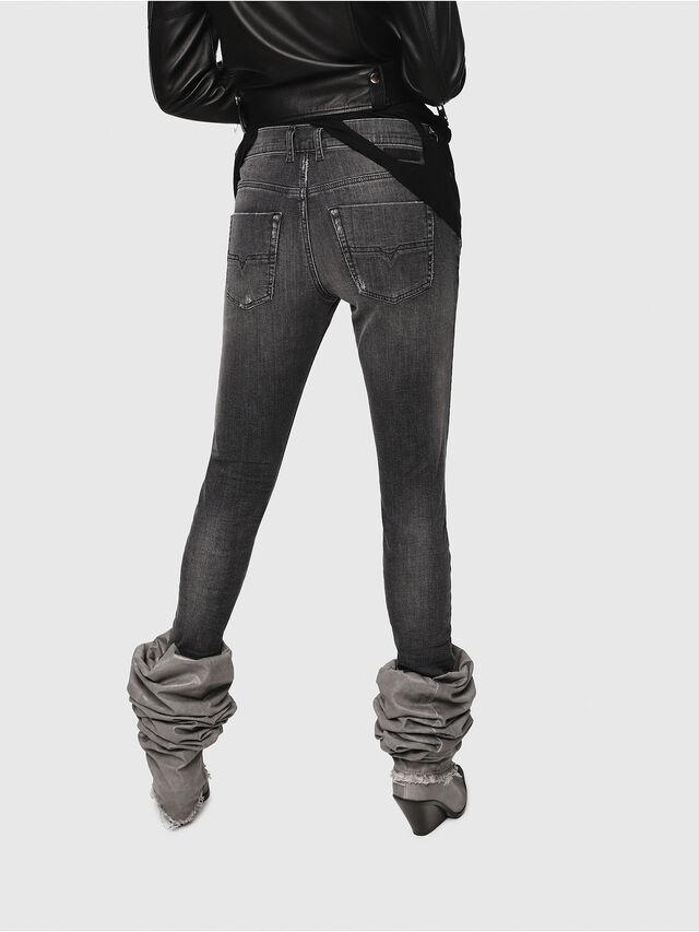 Diesel - Krailey JoggJeans 0077T, Black/Dark grey - Jeans - Image 2