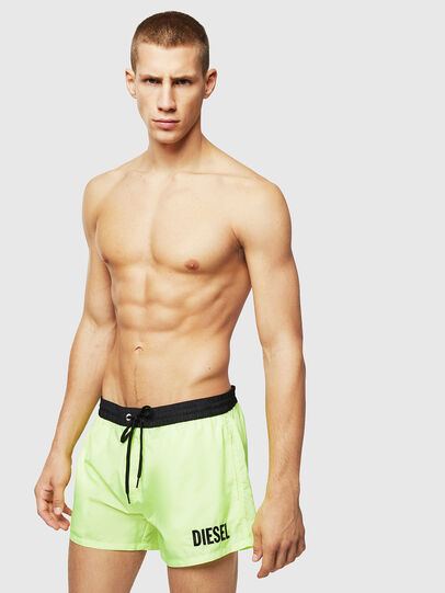 Diesel - BMBX-SANDY 2.017, Green Fluo - Swim shorts - Image 1