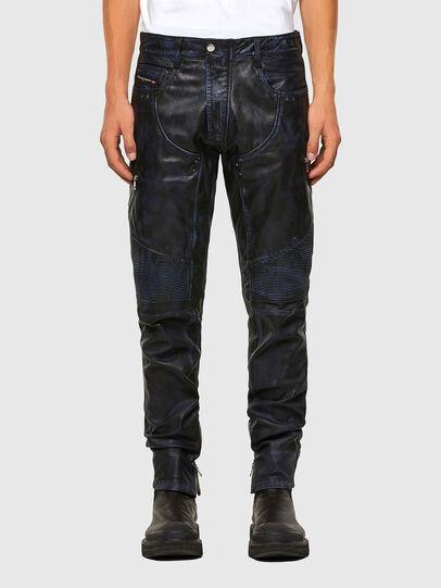 Diesel - P-TRAN-A, Dark Blue - Pants - Image 1