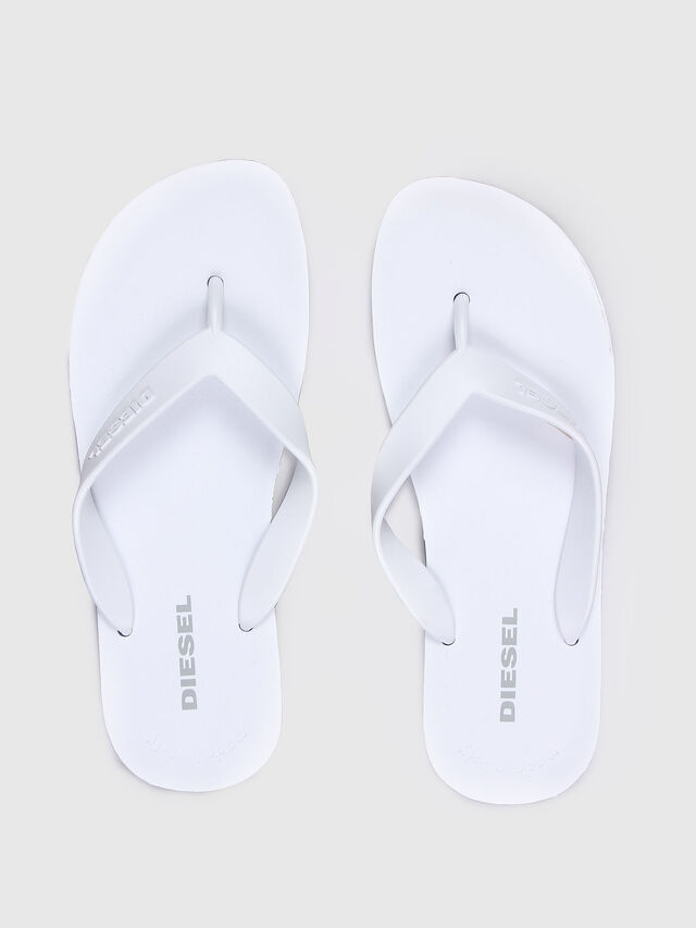 Diesel SPLISH, White - Slippers - Image 2