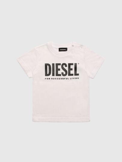 Diesel - TJUSTLOGOB, White - T-shirts and Tops - Image 1