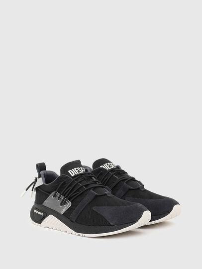 Diesel - S-KB UP LACE, Black/Blue - Sneakers - Image 2