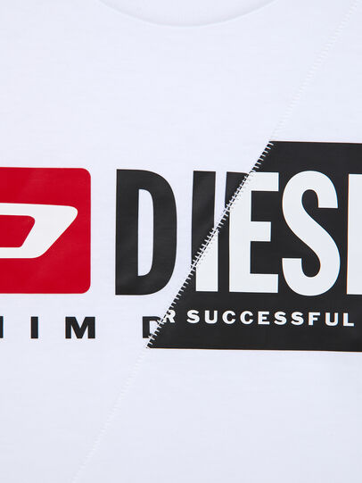 Diesel - TDIEGOCUTY ML, White - T-shirts and Tops - Image 4