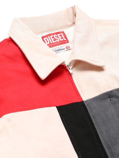 Diesel - GR02-J301-P, White - Denim Jackets - Image 4