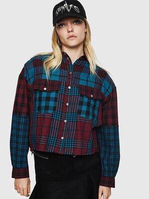 C-OKSANA, Red/Blue - Shirts