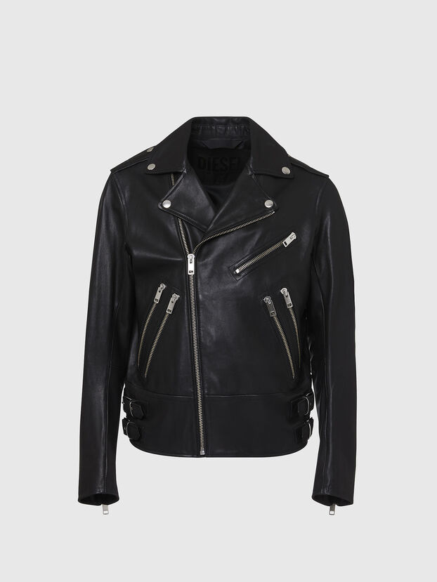 L-GARRETT, Black - Leather jackets