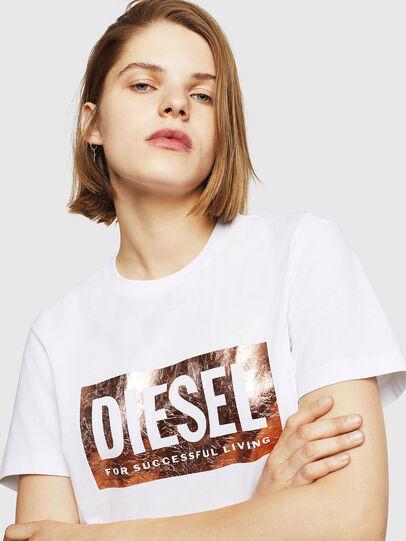 Diesel - T-FOIL, White - T-Shirts - Image 3