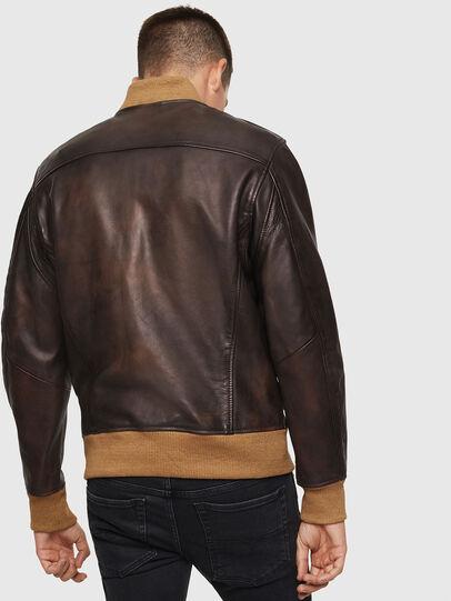 Diesel - L-OIUKI,  - Leather jackets - Image 2