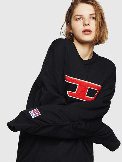Diesel - F-ARAP-A, Black - Sweaters - Image 4