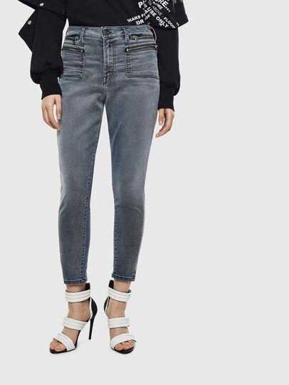 Diesel - D-Eifault JoggJeans 069LT, Dark Blue - Jeans - Image 1