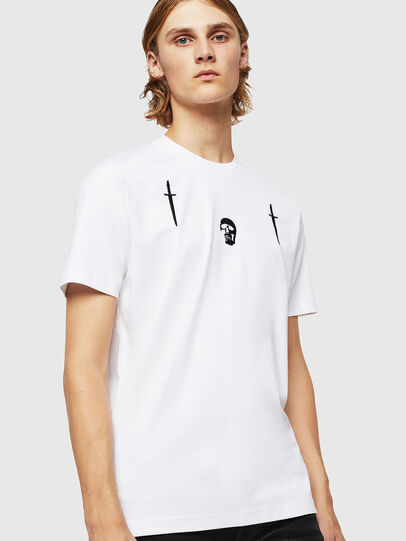 Diesel - TY-X2, White - T-Shirts - Image 1