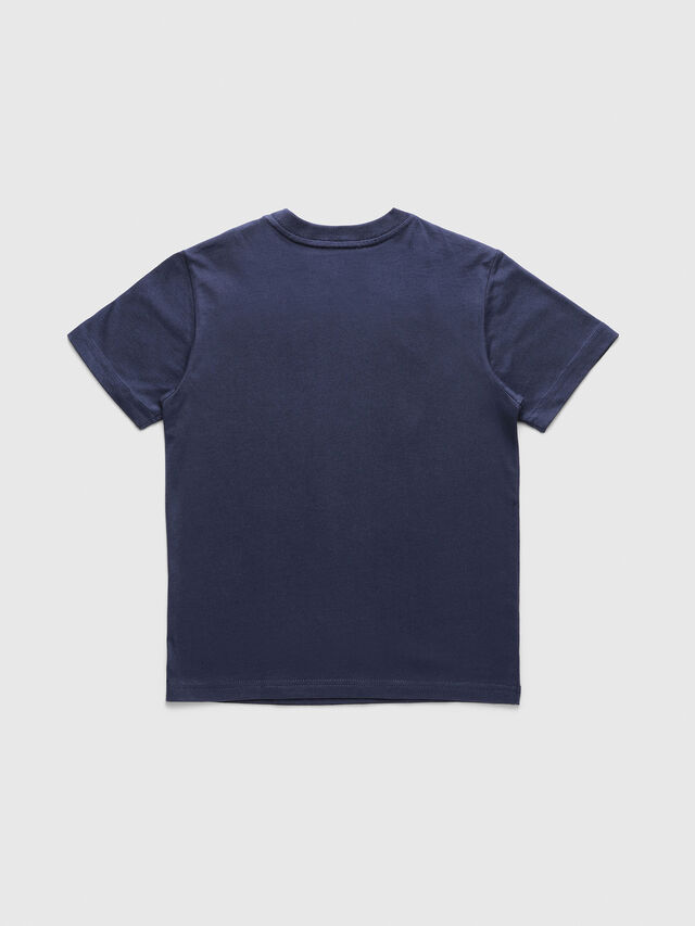 Diesel - TJUSTDIVISION, Dark Blue - T-shirts and Tops - Image 2