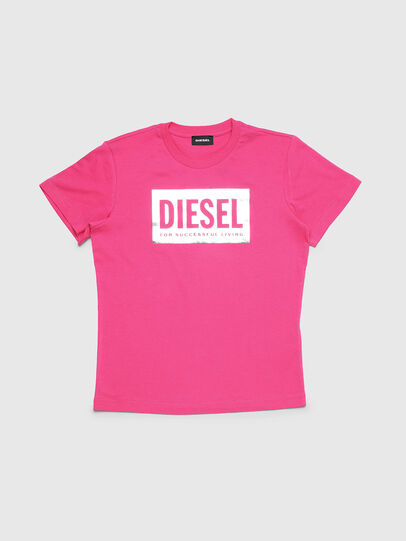 Diesel - TFOIL, Pink - T-shirts and Tops - Image 1