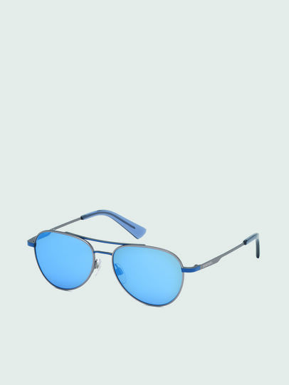 Diesel - DL0291, Blue/Grey - Kid Eyewear - Image 2