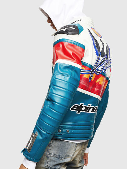 Diesel - ASTARS-LPATCH-1B,  - Leather jackets - Image 2