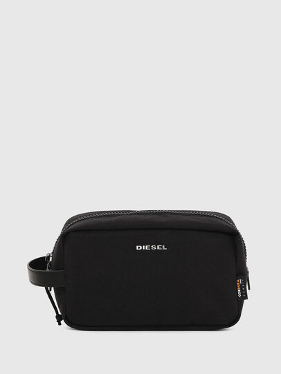 Diesel - F-URBHANITY POUCH, Black - Bijoux and Gadgets - Image 1