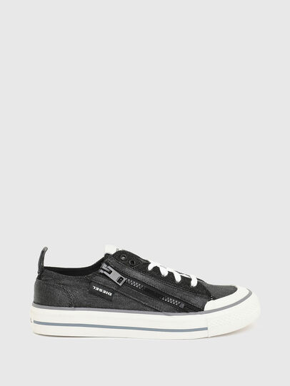 Diesel - S-ASTICO LOW ZIP W, Black - Sneakers - Image 1