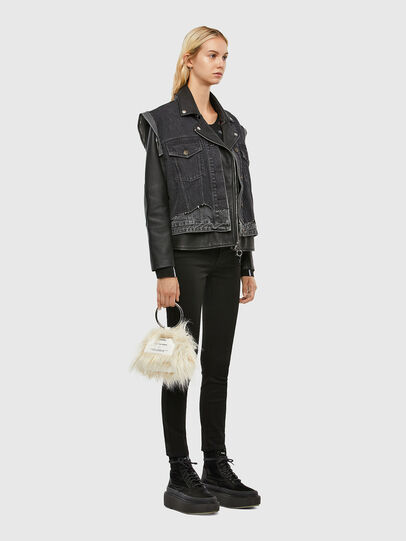 Diesel - L-KELLY, Black - Leather jackets - Image 6