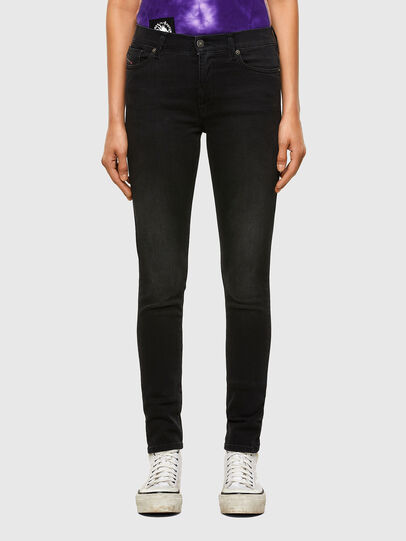 Diesel - D-Roisin 069MZ, Black/Dark grey - Jeans - Image 1
