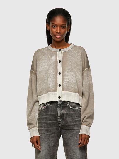 Diesel - M-CAROLINA, Light Grey - Knitwear - Image 1