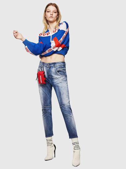 Diesel - Fayza JoggJeans 0870N, Medium blue - Jeans - Image 5